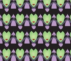 Mistress of all Evil fabric by ledreamscometrue on Spoonflower - custom fabric - shut up! I want to make everything now with this!!!!