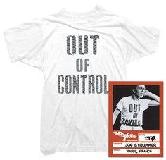 Joe Strummer - Out of Control Tee
