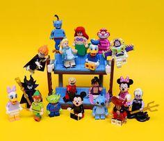 """Finally you are all mine new LEGO Disney mini figures"" Photo and caption by  @legoecm  #legophotography #sweet #comics #awesome #brickfilm #stopmotion #legostagram #awesome #legominifigs #brickfans #creative #legos #lego #disney #art #bricknetwork #marvel #laugh #creation #funny #photography #minifigure #minifigures #superman #stormtrooper #captainamerica #thelegomovie #legoland by bricknetwork"