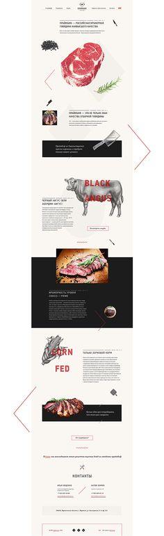 Prime Beef on Behance http://primebeef.ru