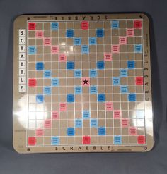 Rotating Scrabble Board Deluxe Game Board ONLY