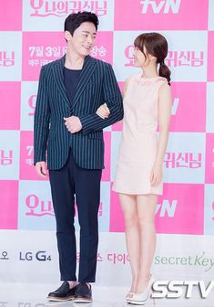Park Bo Young, Jo Jung Suk, Kim Seul Gi, and Im Ju Hwan talk kisses, characters, and more at the Oh My Ghostess press conference