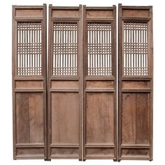 Set of Four Chinese Door Panels | From a unique collection of antique and modern doors and gates at http://www.1stdibs.com/furniture/building-garden/doors-gates/