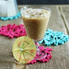 Refreshing Thai Iced Coffee (like Vietnamese iced coffee) to celebrate the official beginning of summer. Add a little vodka for a kick!