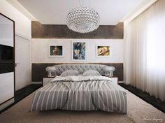 Epic schlafzimmer design gesteppter kopfteil abgehaengte decke wanddeko