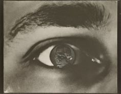 El Lissitzky :: Dziga Vertov - Kino Auge, 1929 [Gelatin silver print, photomontage] / source: mfah in the context of exhibition Utopia / Dystopia: Construction and Destruction in Photography and Collage To create this photomontage, El Lissitzky...
