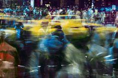Ernst Hass New York Motion Crosswalk II, NY
