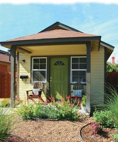 """the house was built with an eight-panel solar system. We were amazed! All of our energy comes from these eight panels, and our water comes from a spring,"""" Rae says.    Read more: http://www.naturalhomeandgarden.com/sustainable-homes/salvaged-homes-renovating-old-buildings.aspx#ixzz1nvjpTZeP"""