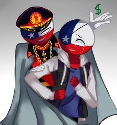 Chile! CountryHumans — chileball-eoc:   Contando los días para el 18 ―... Human App, New Fathers, Country Art, Fan Art, History, Drawings, Anime, Fictional Characters, Holi
