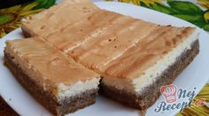 Walnut - Cheese Cake of Our Grandmothers NejRecept. Czech Recipes, Walnut Cake, Banana Split, Sweet Cakes, Cakes And More, No Bake Cake, Sweet Recipes, Cookie Recipes, Cheesecake