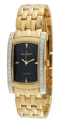 Peugoet Women's 1732G All Gold 1/2 ct Diamond Accented Limited Edition Watch, http://www.amazon.com/dp/B005XAJO18/ref=cm_sw_r_pi_awdm_A3mMvb1KQ432D