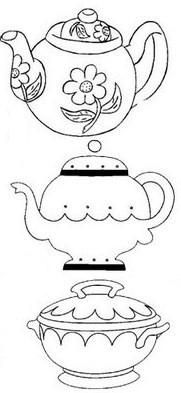 Tea pots via Flickr