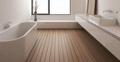 Do's-and-don'ts voor heerlijke badkamerontspanning! Master Bedroom Bathroom, Bathroom Wall, Bad Inspiration, Bathroom Inspiration, Home And Deco, New Homes, Bathtub, Flooring, Architecture