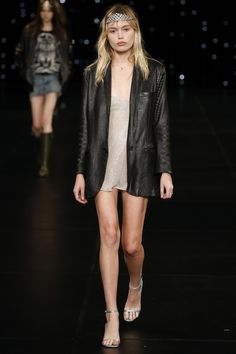 The pouty 23-year-old has caught the eye of more than 57,000 followers‹and now Hedi Slimane.