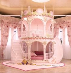 children Bedroom Princess Bedroom Princess Girl Slide Children Bed Lovely Single Pink Castle Bed Girls Furniture Little Girls Room bed Bedroom castle Children furniture Girl Girls Lovely pink princess Single slide Cute Bedroom Ideas, Cute Room Decor, Girl Bedroom Designs, Awesome Bedrooms, Girls Bedroom Pink, Cool Girl Bedrooms, Teen Girl Bedding, Bed Ideas, Baby Decor