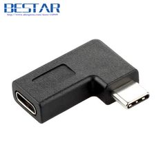 >> Click to Buy << 2017 NEW Right Angle USB 3.1 Type-C angled Adapter USB type c Male To Female Connector adapter USB-C USB3.1 #Affiliate