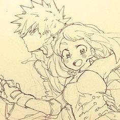 Katsuki Bakugou x Uraraka Ochako || Boku no Hero Academia