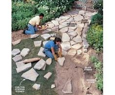 How to Build a Stone Pathway