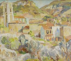 Landscape in Provence: Cassis, Duncan Grant (1885–1978),  The Ashmolean Museum…