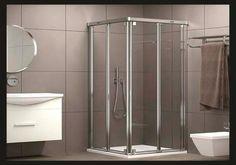 Mampara de bany de disseny / Mampara de baño de diseño #Tortosa #Terresdelebre #Banys #Baños #Disseny #Diseño #Reformes #Reformas