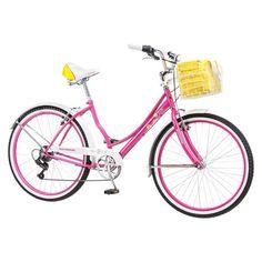 "Schwinn Womens Lulu 26"" Cruiser Bike - Pink/White  From Target"