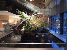 草月流 「森彩琳」 の いけばな日記: ザ・キャピトルホテル東急