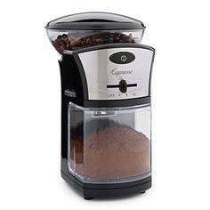 Capresso Disk Burr Grinder - Coffee, Espresso & Tea - Kitchen - Categories - Home - Bloomingdale'sRegistry