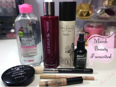 March Beauty Favourites at JustJulie