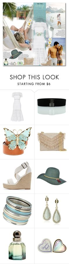 """""""Be the change..."""" by nannerl27forever ❤ liked on Polyvore featuring self-portrait, Paul & Joe, Cynthia Rowley, Charlotte Russe, Scala, Oasis, Karen Kane and Balenciaga"""