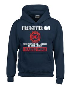 Firefighter Mom - Hoodie - BeyondTags  - 4