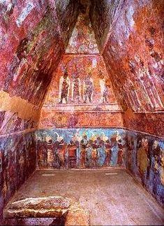 frescos de bonampak,mexico | BONAMPAK Y PALENQUE (México), por Luis Manuel Moll Juan