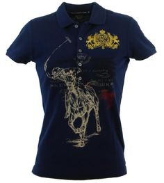 Ralph Lauren Sport Womens Logo Polo Shirt for only $79.99 You save: $65.01 (45%) + Free Shipping