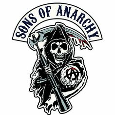 Sons of Anarchy final season logo | SONS OF ANARCHY REAPER LOGO PATCH