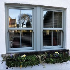 Tailored Windows offer a complete range of bespoke window and door products made in West Yorkshire. Wooden Casement Windows, Upvc Sash Windows, Grey Windows, Sliding Windows, House Windows, Windows And Doors, Front Doors, Front Door Design, Window Design