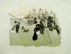 Pierre Bonnard, litograph on wove paper