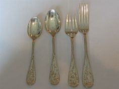 Lunt Quintessence Sterling Place Setting Set of 4