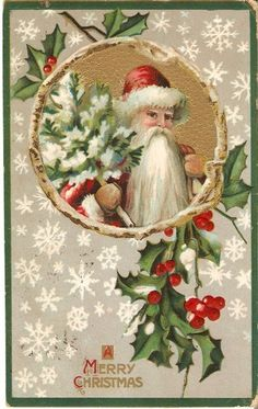 Vintage Christmas postcard                                                                                                                                                                                 More