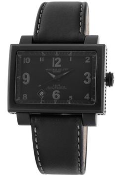 Montres De Luxe Women's 1691 T BLACK 16:9 Quartz Black Dial Watch Montres De Luxe. $540.00. Band made with fine Italian leather; Push pull crown. Attractive rectangular dial with date display. Buckle clasp with brand name on it. Water-resistant to 99 feet (30 M). Quartz movement. Save 60%!