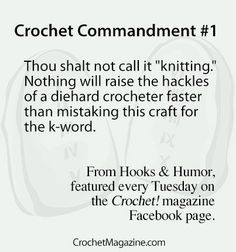 Hooks & Humor From Crochet! Magazine