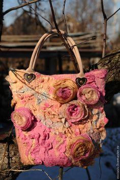 Сумочка``Розовые сны``. Handmade.