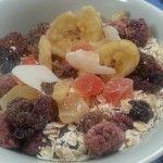 Colazione con... muesli di frutta essiccata!