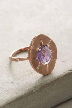 Sirciam Amethyst Oval Ring