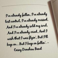 Fallen, Casey Donahew Band