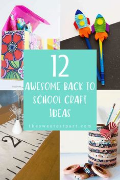 12 Awesome Back To School Crafts