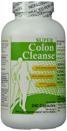Super Colon Cleanse, 500mg, 240 capsules