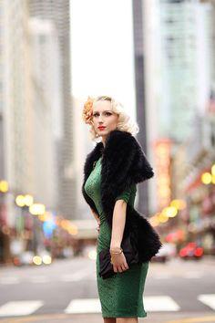 4af4a12f54 Emerald velvet pencil dress from zoevine.com. Zoe Vine