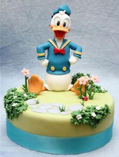 13 deliziose torte Donald duck per il compleanno o matrimonio party1