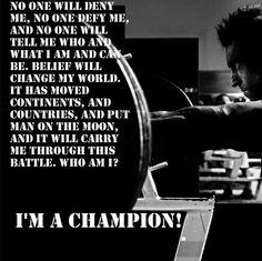 True champion!
