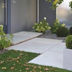 Hauseingang - Eingangspodest - Conceo Podestplatten 0953