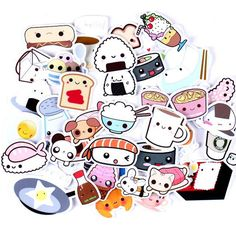 Kawaii Japanese Food Stickers